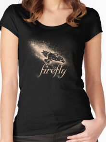 Firefly Silhouette Women's Fitted Scoop T-Shirt