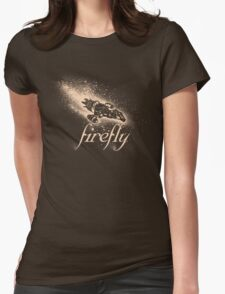 Firefly Silhouette Womens Fitted T-Shirt