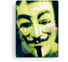 Guy Fawkes (Remember, Remember) Canvas Print