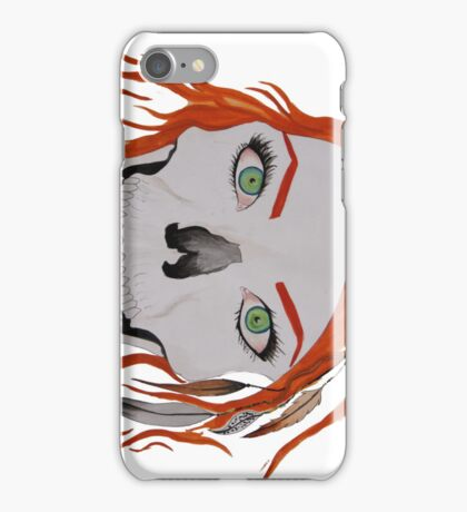 Megan Massacre skull iPhone cover iPhone Case/Skin