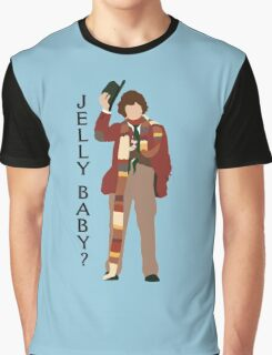 Doctor Who Tom Baker Jelly Baby minimalist Graphic T-Shirt