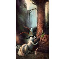 Frigga and the Water Dragon Photographic Print