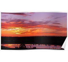 Spectacular Sunset Poster