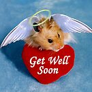 Get Well Soon Hamster by jkartlife