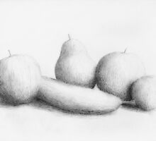 Fruit Study by Eric Fan