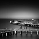 Aquatic Pier by Toby Harriman