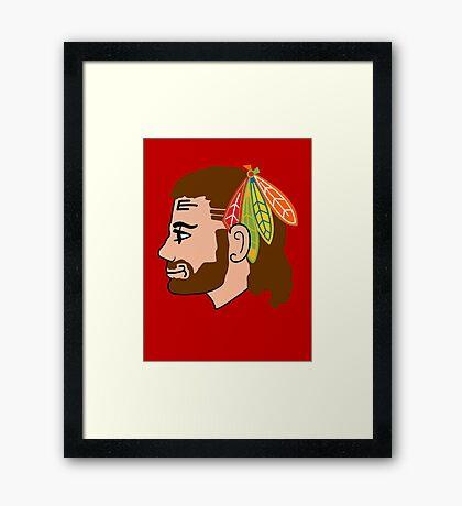 Embrace the Beard-Mullet Framed Print