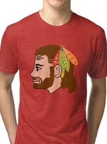 Embrace the Beard-Mullet Tri-blend T-Shirt