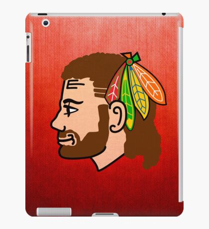 Embrace the Beard-Mullet iPad Case/Skin