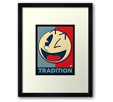Pac man , obey , good , hype  Framed Print