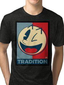 Pac man , obey , good , hype  Tri-blend T-Shirt