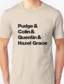 John Green's Characters Ampersand T-shirt Unisex T-Shirt
