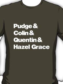 John Green's Characters Ampersand T-shirt v.2 T-Shirt