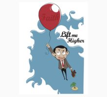 Mr. Bean in Faith Baloon Kids Tee