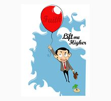 Mr. Bean in Faith Baloon Unisex T-Shirt