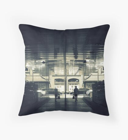 Transport Lock Throw Pillow