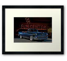 1957 Chevrolet Bel Air Convertible Framed Print
