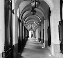 Arches off Savoy Street, London by Matt Eagles