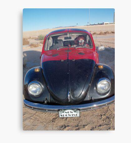 Lady Beetle Man Canvas Print