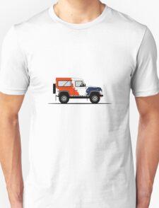 Land Rover Defender 90 Bowler Motorsport Challenge T-Shirt