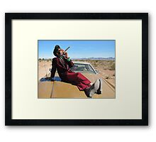 Big Time Framed Print