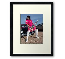 The Queen of Rock Framed Print