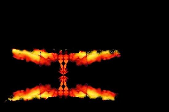 Fiery Reflection by aprilann