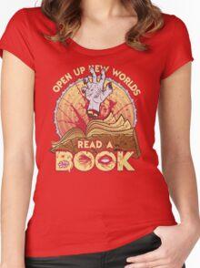 Read a Damn'd Book Women's Fitted Scoop T-Shirt