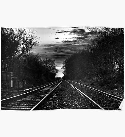 Double Track Poster