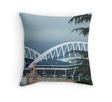 Century Link Stadium  Throw Pillow