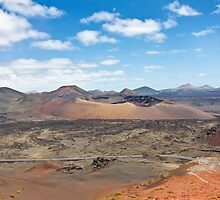 Timanfaya Volcano by gleadston