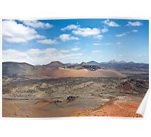 Timanfaya Volcano Poster