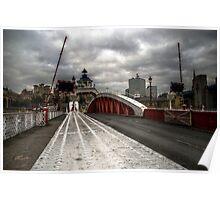 HDR Tyne Swing Bridge Poster