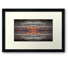 Sky Art 4 Framed Print