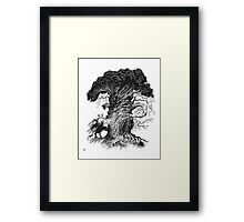 Quircus Stompus Framed Print