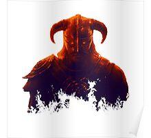 Dovakhiin in flames Poster