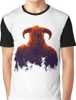 Dovakhiin in flames Graphic T-Shirt