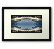 Sky Art 17 Framed Print