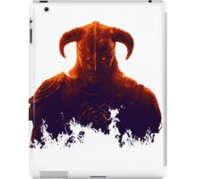Dovakhiin in flames iPad Case/Skin