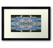 Sky Art 23 Framed Print