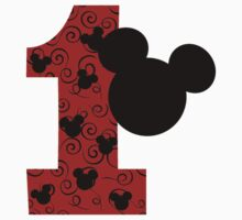 First Birthday Mickey Mouse by sweetsisters