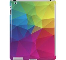 abstract colorful pattern geometric polygon design iPad Case/Skin