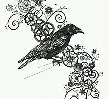 Clockwork Crow by fitakerfuffle