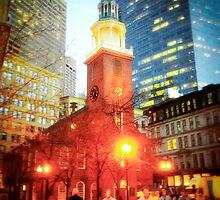 Boston Old State House by Elizabeth Thomas