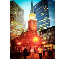 Boston Old State House Photographic Print