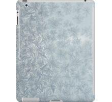 Frost on a window iPad Case/Skin