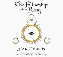 """The Fellowship of the Ring"" - The Lord of the Rings by FabFari"
