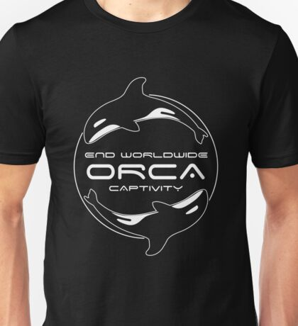 End Worldwide Orca Captivity Unisex T-Shirt