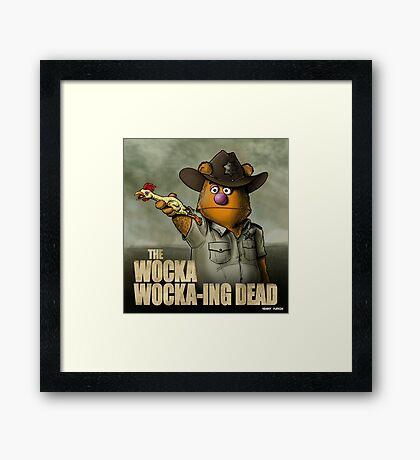 The Wocka Wocka-ing Dead Framed Print