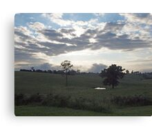 The land of milk and cheese Canvas Print
